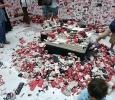 Plastilina colorata da modellare. #Jan25 di Norma Jeane (rif. alle rivoluzioni nel mondo arabo). Pad. centrale, Biennale di Venezia 2011. Ph. Silvia Dogliani