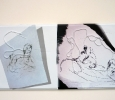 Opere di Seth Price, artista di Gerusalemme est classe 1973. Pad centrale, Biennale di Venezia 2011. Ph. Silvia Dogliani