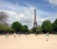 Una partita agli Champs de Mars