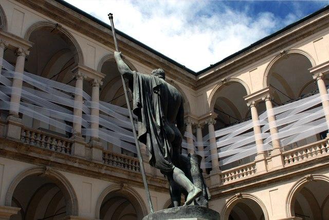 Accademia di belle Arti di Brera. Ph. Silvia Dogliani