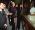 Muammar Gaddafi at the Egyptian Museum, Cairo. March 1999. Ph. Norbert Schiller