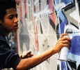 "Exhibition ""Hip Hop : du Bronx aux rues arabes"", IMA, Paris. Ph. Silvia Dogliani"
