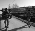 Attività di pattugliamento del contingente italiano KFOR nei villaggi del Kosovo. Ph. Silvia Dogliani