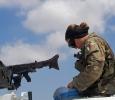Soldato su un Lince, Libano. Ph. Silvia Dogliani