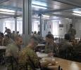 Mensa della base militare di Tibnin, Libano. Ph. Silvia Dogliani
