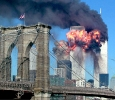 The second tower of the World Trade Center bursts into flames after being hit by a hijacked airplane in New York in this September 11, 2001. REUTERS/Sara Schwittek
