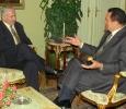 Egyptian Prime Minister Netanyahu meeting with Hosni Mubarak, July 1996. Ph. Norbert Schiller