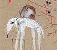 Doggie, illustration by Natalie Pudalov