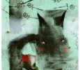 Stories of wolf, illustration by Natalie Pudalov