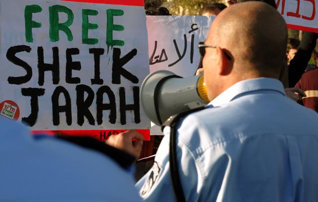 Proteste a Sheikh Jarrah, Gerusalemme est. Ph. Silvia Dogliani