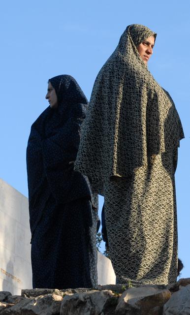 Donne di Sheikh Jarrah, Gerusalemme est. Ph. Silvia Dogliani