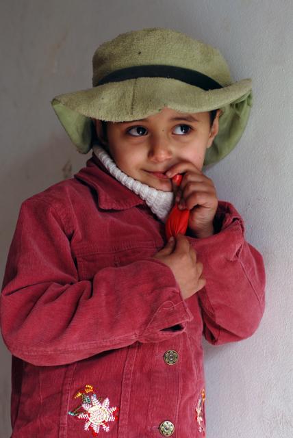Bambina di Silwan, Gerusalemme est. Ph. Silvia Dogliani