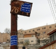 Cartello in una strada di Silwan, Gerusalemme est. Ph. Silvia Dogliani