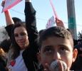 Dimostrazione a Sheikh Jarrah, Gerusalemme est. Ph. Silvia Dogliani