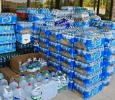 Bottled water donations, Alabama, May 2011. Ph. Amanda Dunn