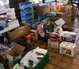Donations for babies and small children, Alabama, May 2011. Ph. Amanda Dunn