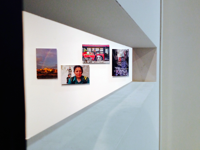 Instantanés d'Alep by Ammar Abd Rabbo. Syrie: cris-action, IMA, Paris. Ph. Silvia Dogliani