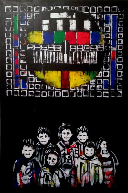 Série Brainwash by Hamid Sulaiman. Syrie: cris-action, IMA, Paris. Ph. Silvia Dogliani