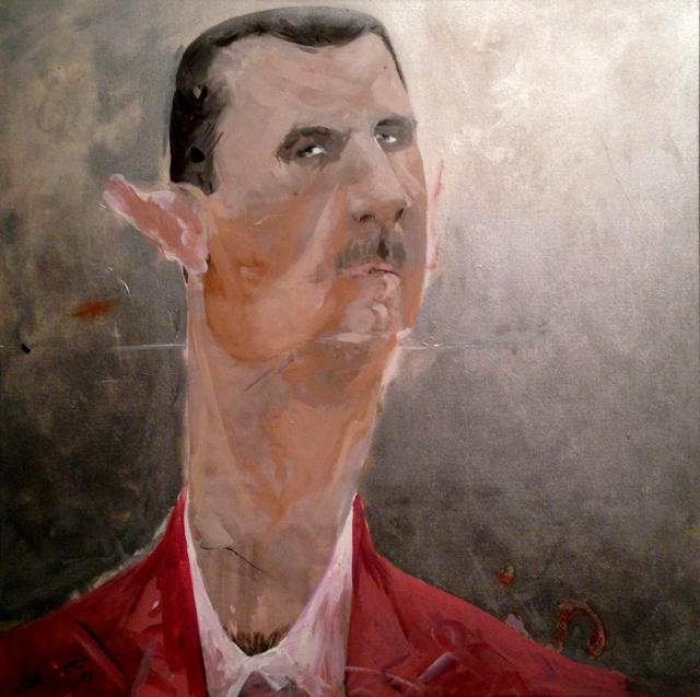 by Monif Ajaj. Syrie: cris-action, IMA, Paris. Ph. Silvia Dogliani