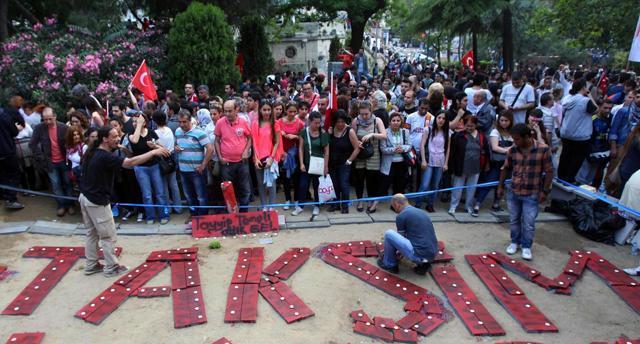 Turchia. Proteste per proteggere Gezi Park.