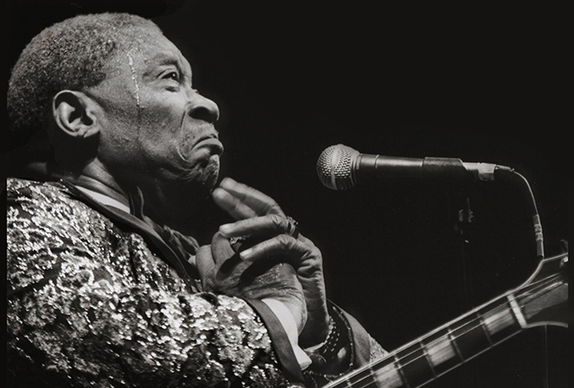 BB King. Ph. Angelo Redaelli