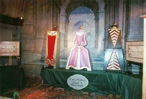 Maria Teresa d'Austria, Elena di Troia, Elisabetta l d'Inghilterra. Vito Gemmati